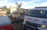 Vanderbijlpark car crashes into wall leaving man seriously injured