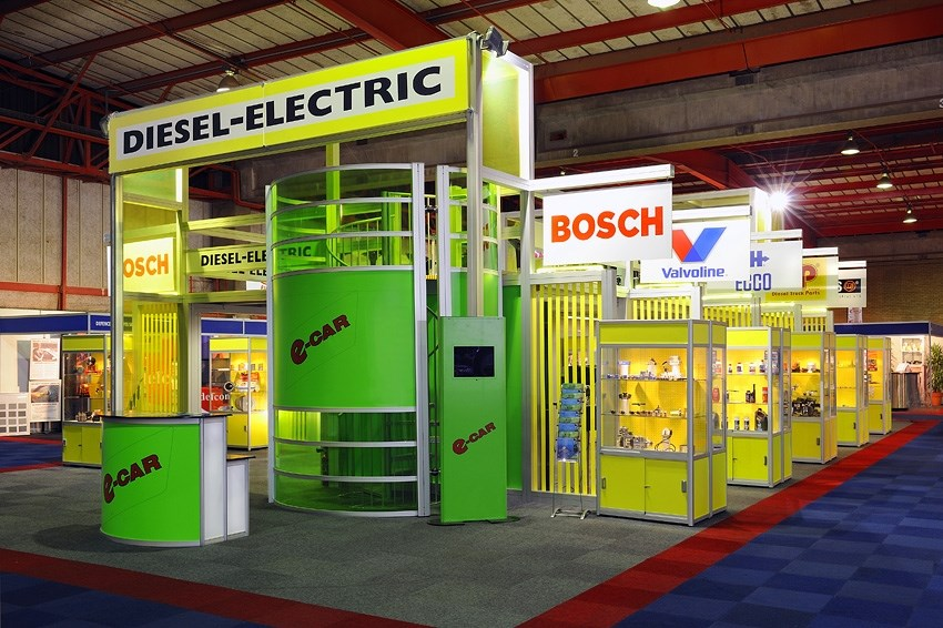 Automechanika plays an important role in Diesel-Electric