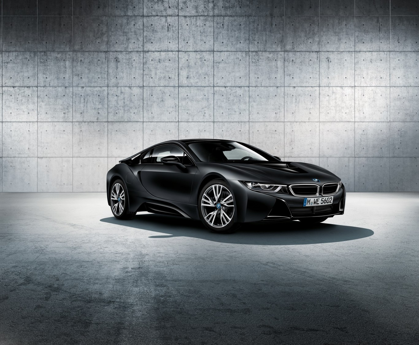 The Exclusive Bmw I8 Protonic Frozen Black Edition Now Available In