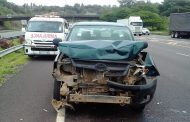 3 people injured in a collision on the N3 Durban near Spaghetti Junction