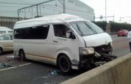 14 Injured in taxi crash on the M4 North Bound near Dahlbridge in Durban