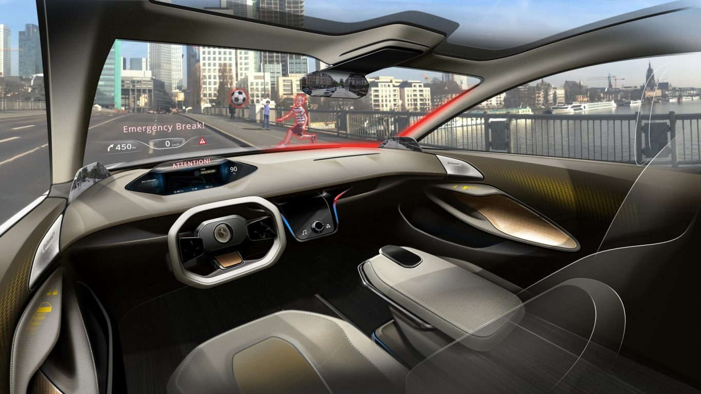 See what's driving the future: Continental Cockpit Vision