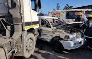 4 injured in a crash on Bayhead Road