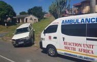 Bakkie Crashes After Brake Failure, Verulam