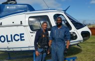 SAPS airwing keeping an eye on crime prevention operations conducted in Mdantsane and Beacon Bay