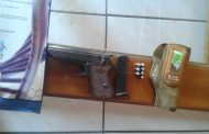 Police busted two with unlicensed firearm