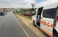 Several injured in rollover on the R512 near the lion park crossing.