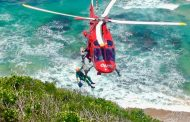 Paraglider rescued at Wilderness
