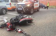 Biker injured in crash in Morningside