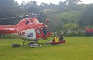Man airlifted from Table Mountain with broken leg after fall.