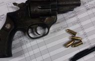 suspect was arrested for possession of unlicenced firearm and ammunition