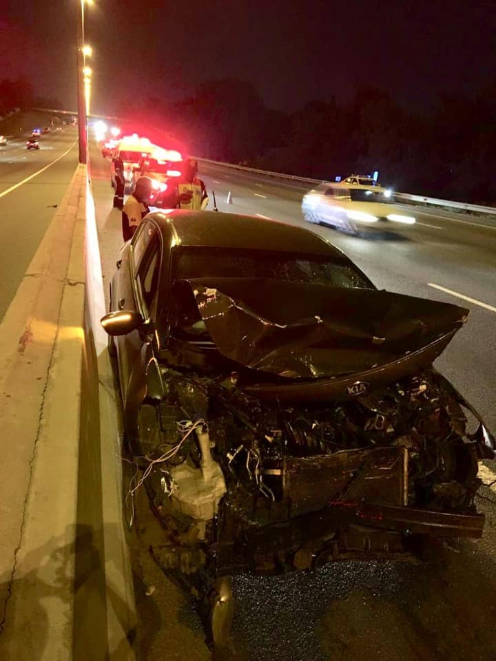 One person injured in crash on the N1 north after the Malibongwe off-ramp, Douglasdale