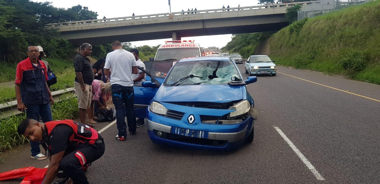 Self-confessed marijuana dealer run over on the north bound lane of the R102 in the vicinity of the Verulam