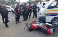 Biker Injured In Crash at Ottawa Intersection, KZN