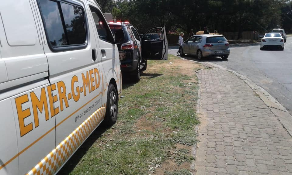 Two injured in collision at intersection in Bryanston