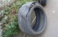 Warning! Worn tires make you 33% more likely to crash