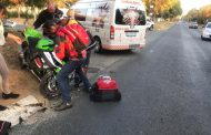 One injured in a bike collision in Randburg