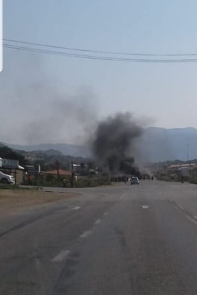 R37, R555 and R577 may be closed by protesters