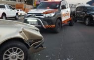 Vehicle collision leaves four injured in Randburg