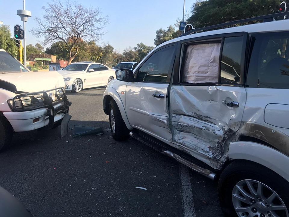 Collision in Randburg causes heavy traffic delays