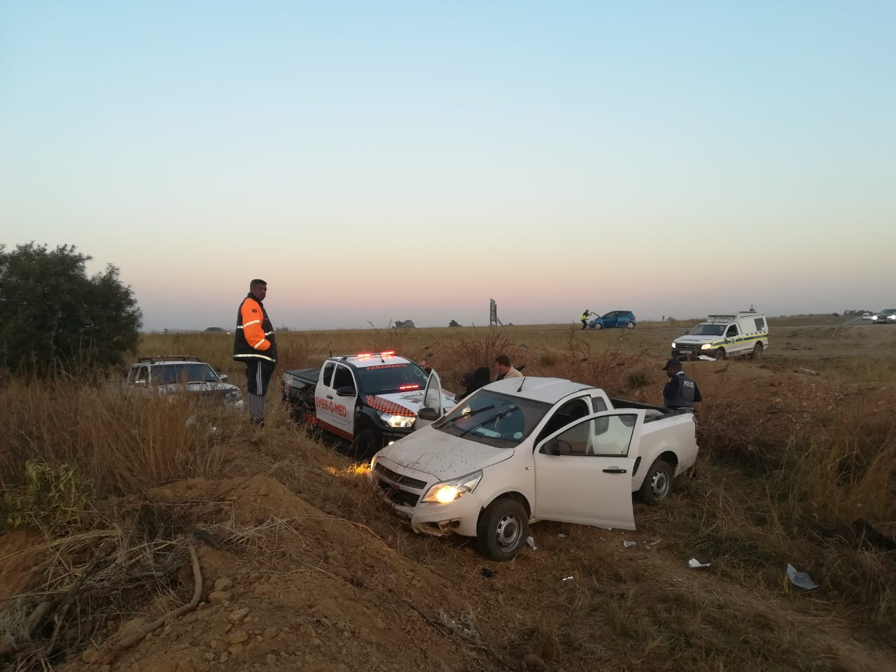 One person injured in collision at intersection in Centurion