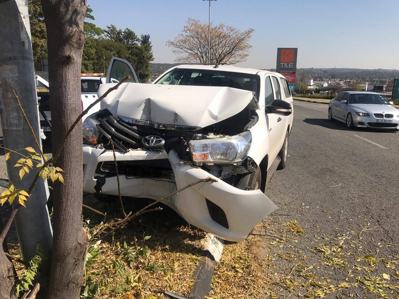 One person injured in Randburg collision