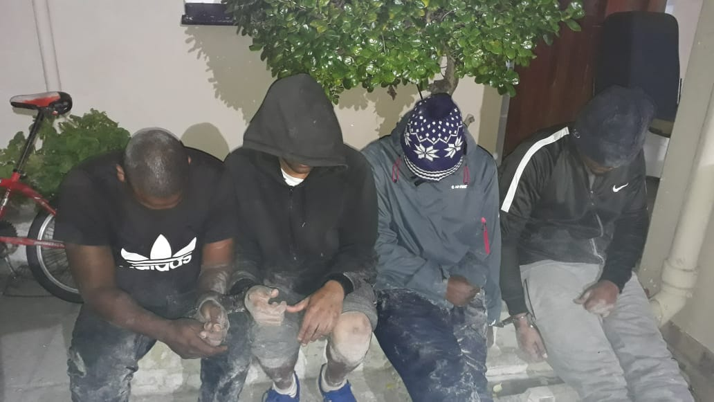 Four suspects arrested for possession of Abalone in Gansbaai