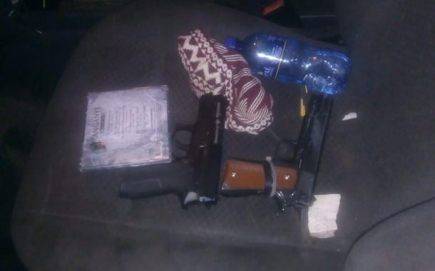 Tshwane Metro Police K9 unit recovers a hijacked vehicle and two firearms, with three suspects arrested