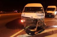 One injured in collision between two taxis on N12 Kingsway Bridge.