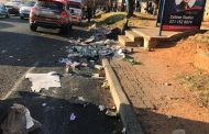 Two passengers and a pedestrian injured in a taxi collision in Randburg