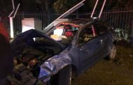 Driver injured in road crash on Curie Avenue, Bloemfontein