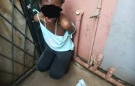 Female theft suspect makes second floor escape jump - nabbed by community in Lotus Park