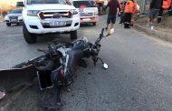 Motorycle collision leaves one injured in Randburg