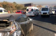 Multiple injured in Sunninghill collision