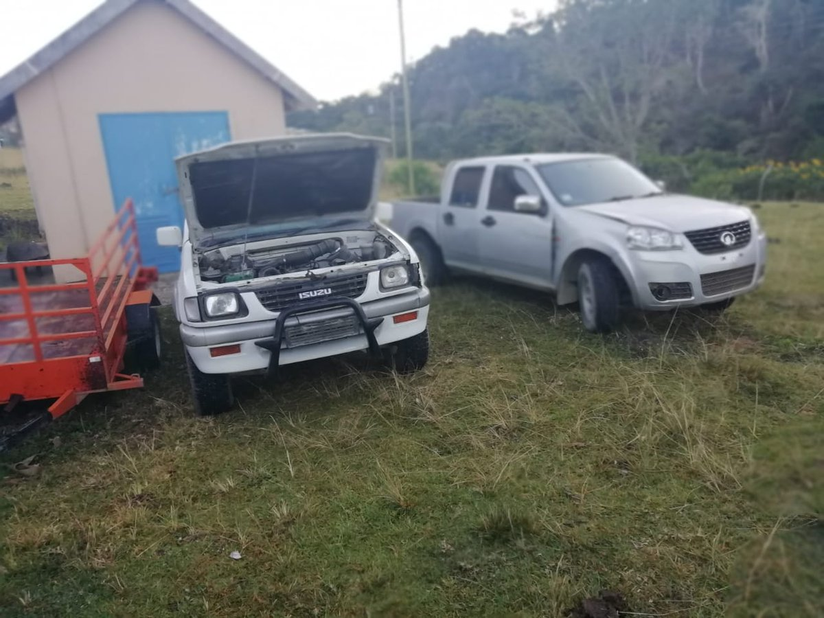 Two motor vehicles confiscated during stabilization operations