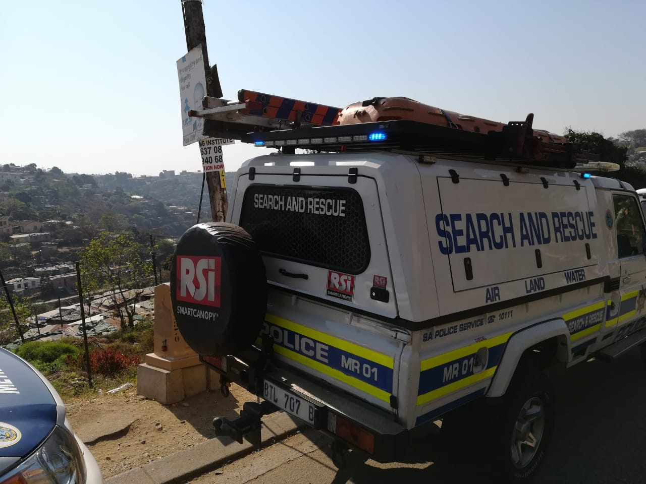 A fire at Shembe Beachway Informal Settlement destroyed 15 shacks and killed 3 children