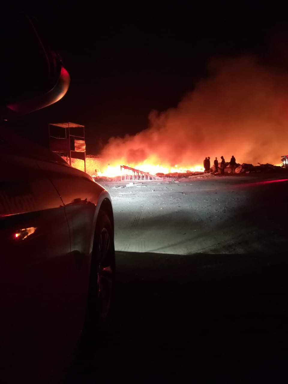 Gauteng: Fire destroys Roodepoort scrap yard