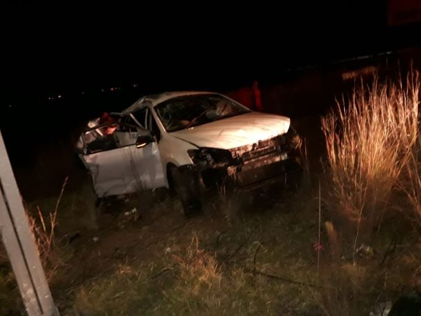 Motorists lucky to have escaped injury in a collision between Ogies and Kriel