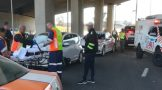 Two women injured in crash on the N1 South Bound at the Maraisburg Bridge in Roodepoort.