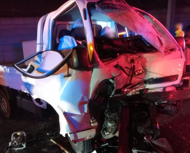 The Jaws of Life were used to a free driver following a three-vehicle crash in Sunninghill Sandton