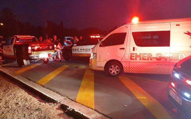 One killed, two injured in road crash involving motorbike in Benoni