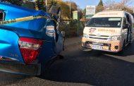 Two injured in Randburg crash