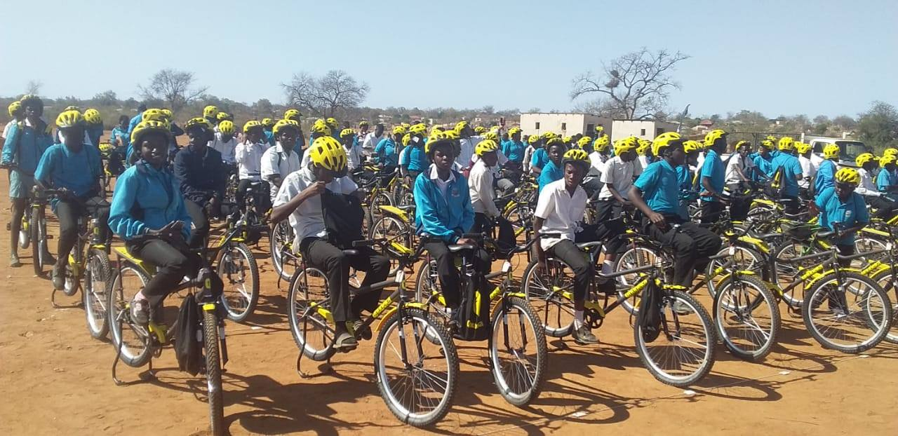 Outreach program coupled with handing over of bicycle donations in Limpopo