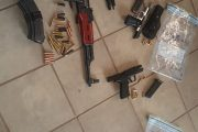KwaZulu-Natal: Firearms seized at a funeral
