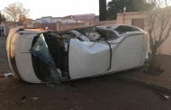 A vehicle rollover in Carletonville has left one person dead and two critical