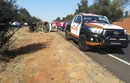 Fortunate escape from injuries in road crash on the N4 direction Pretoria before Rossouw