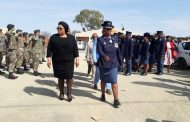 Police and the community join hands during Church Service