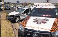 One person injured in collision Roodepoort
