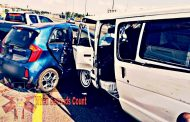 Taxi collision leaves multiple injured in N1 collision