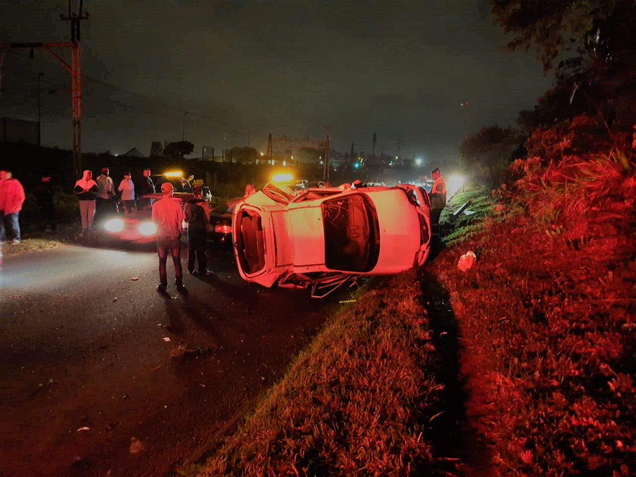 Single-vehicle rollover leaves one dead in Cato Manor